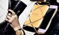 Luxury Italy Fashion DG brand logo Rainbow Lace Crystal Cell Phone Case For Apple iPhone 6 6s 6plus Girlish Rhinestone Case