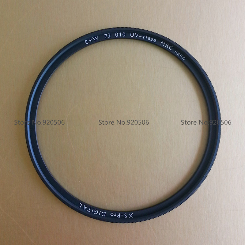 B+W 72mm XS-PRO MRC Nano UV Haze Protective Filter Ultra-thin For Pentax Canon Nikon Sony Olympus Leica Camera Lens, 010M Filtro(China (Mainland))