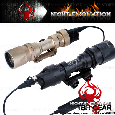Фотография Night-Evolution NE 04005 M951 Weapon Light Tactical Light Blinding Light In Black & Tan+Free shipping(SKU12040035)
