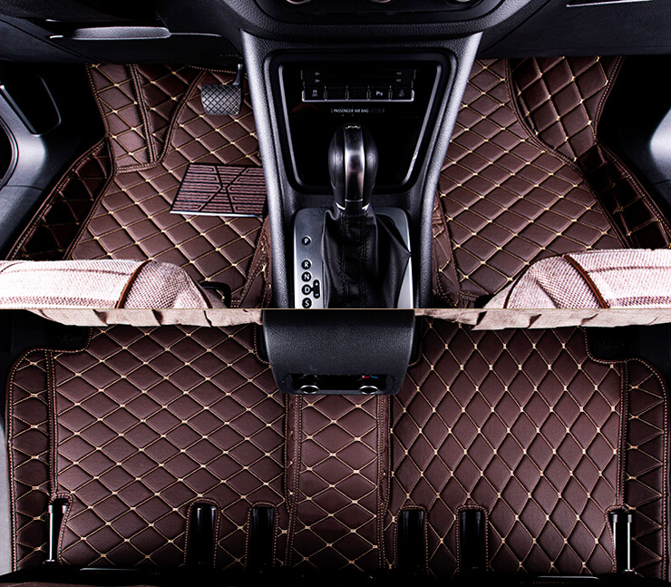 Good quality! Custom special floor mats for Ford Mustang 2doors 2016 waterproof non-slip carpets for Mustang 2015,Free shipping(China (Mainland))