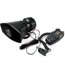 12V 80W 7 Tone Sound Car Siren Vehicle Horn Speaker&Mic PA Speaker System Emergency Amplifier - Fuway HK Co., Ltd store