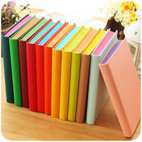 Free shipping cute candy colored creative diary notebook shool supplies stationery