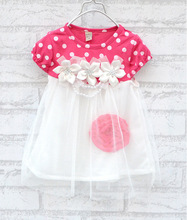 Summer Hot sell baby dress kids wear girls Princess dress kids clothing Dresses(China (Mainland))