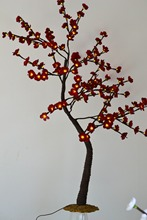 Blossom Plum ( Cherry ) Tree Light / LED Flower Tree Light, Branch Tree Light Wedding decoration blossome flower tree light(China (Mainland))