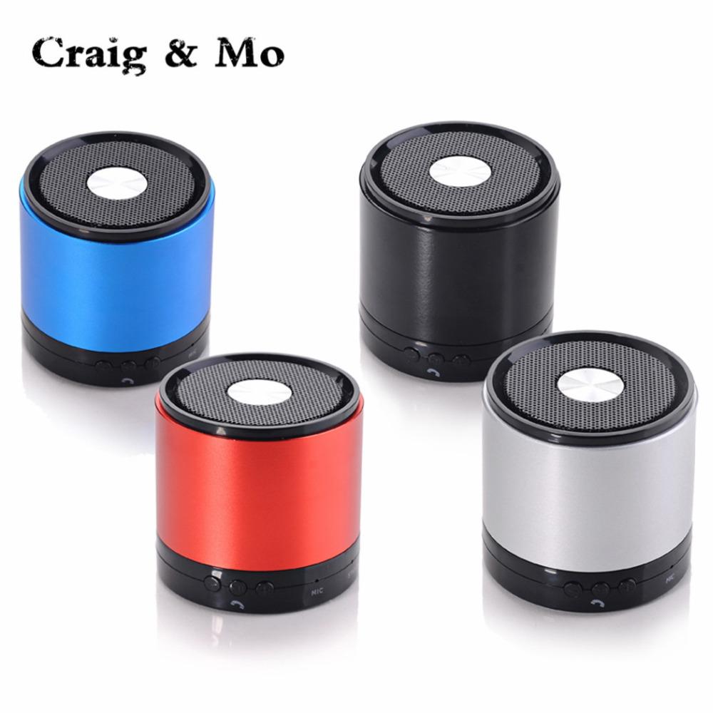 Craig&Mo Colour Blue Portable Bluetooth Speaker Mini HIFI For iPhone iPad iPod Rechargeable Wireless(China (Mainland))