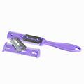 #F9s новый вибрационный Щетка для волос гребень массажер Массаж черный