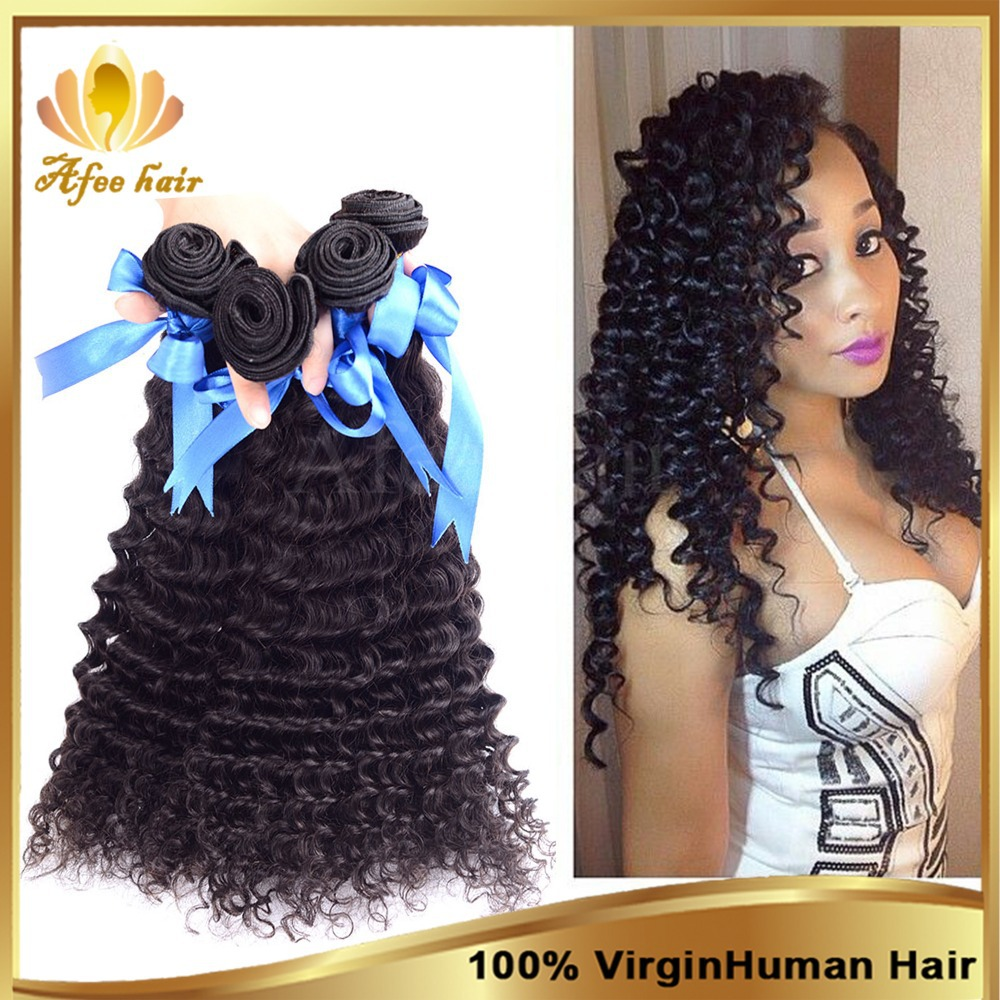 6A Unprocessed Malaysian Virgin Hair Deep Wave Curly 3 Bundles Soft Malaysian Deep Curly Virgin Hair,Cheap Human Hair Weave