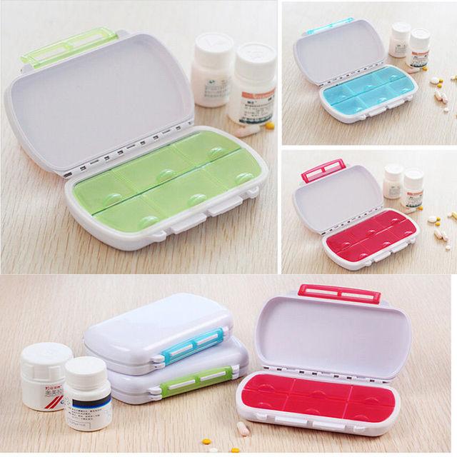 Портативный здравоохранения конфеты цвета рода складной витамин медицина таблетки ...