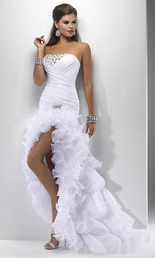 New white ivory wedding dress size 2 4 6 18 20 22 24 26 for Size 24 dresses for wedding