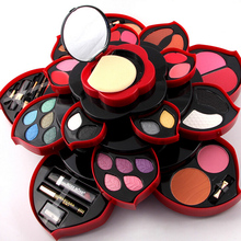 2 Option Newest Professional 46 Full Colors Make Up Kit Blush Eyeliner Lipstick Collection MakeUp Palette 3D Collection For Gift(China (Mainland))