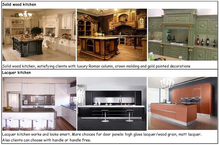 Природа твердые деревянные кухонные шкафчики - 11.11_Double 11_Singles Best seller