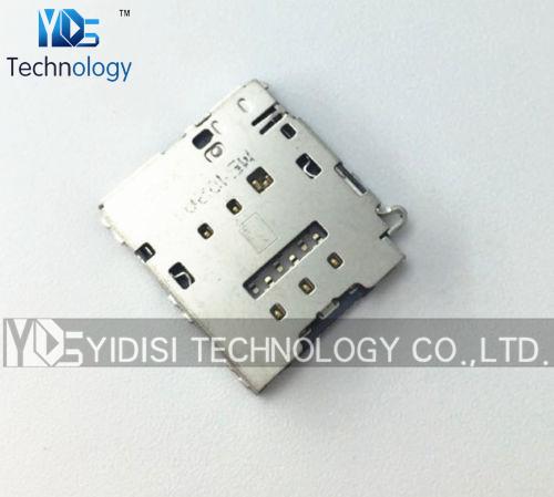 10pcs/lot NEW Original Sim Card Reader Slot Holder Replacement For Samsung Galaxy S6 Edge G925 G9250 Repair Parts