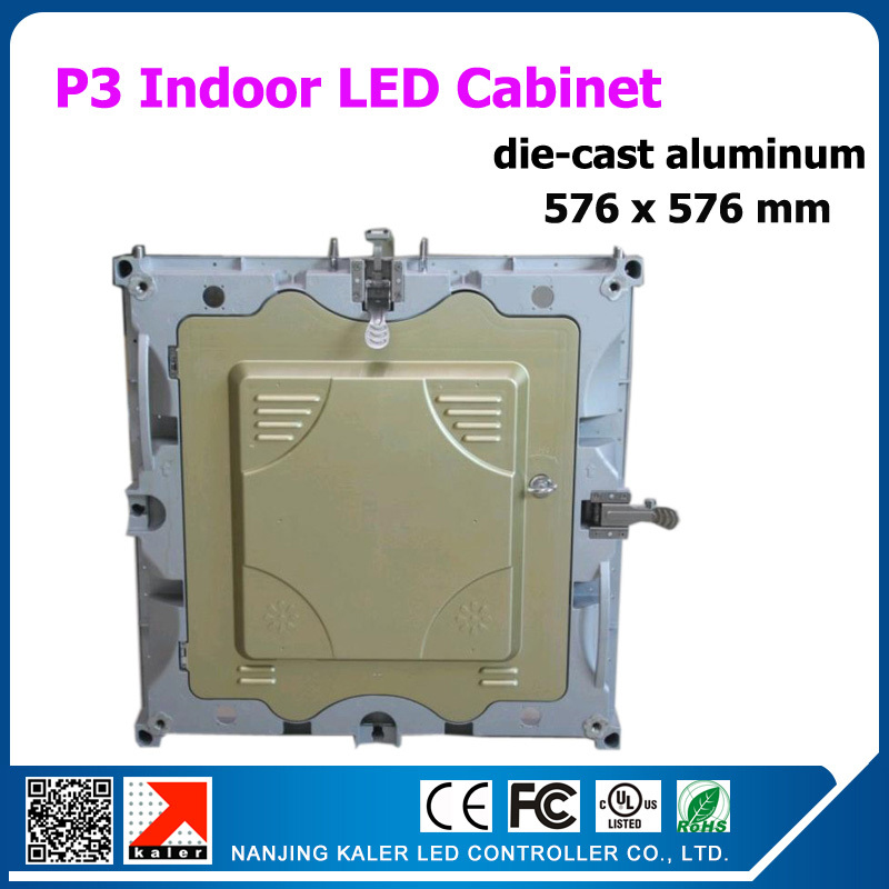 P3 576x76mm rental indoor led display wall for video animation text led display board with linsn receiving card(China (Mainland))