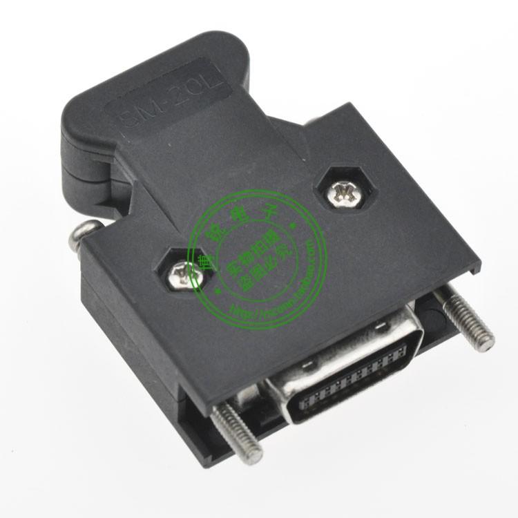 Yaskawa domestic 3M10320CN1 MR-J2CN1 10320 gold-plated plug SCSI MDR connector(China (Mainland))