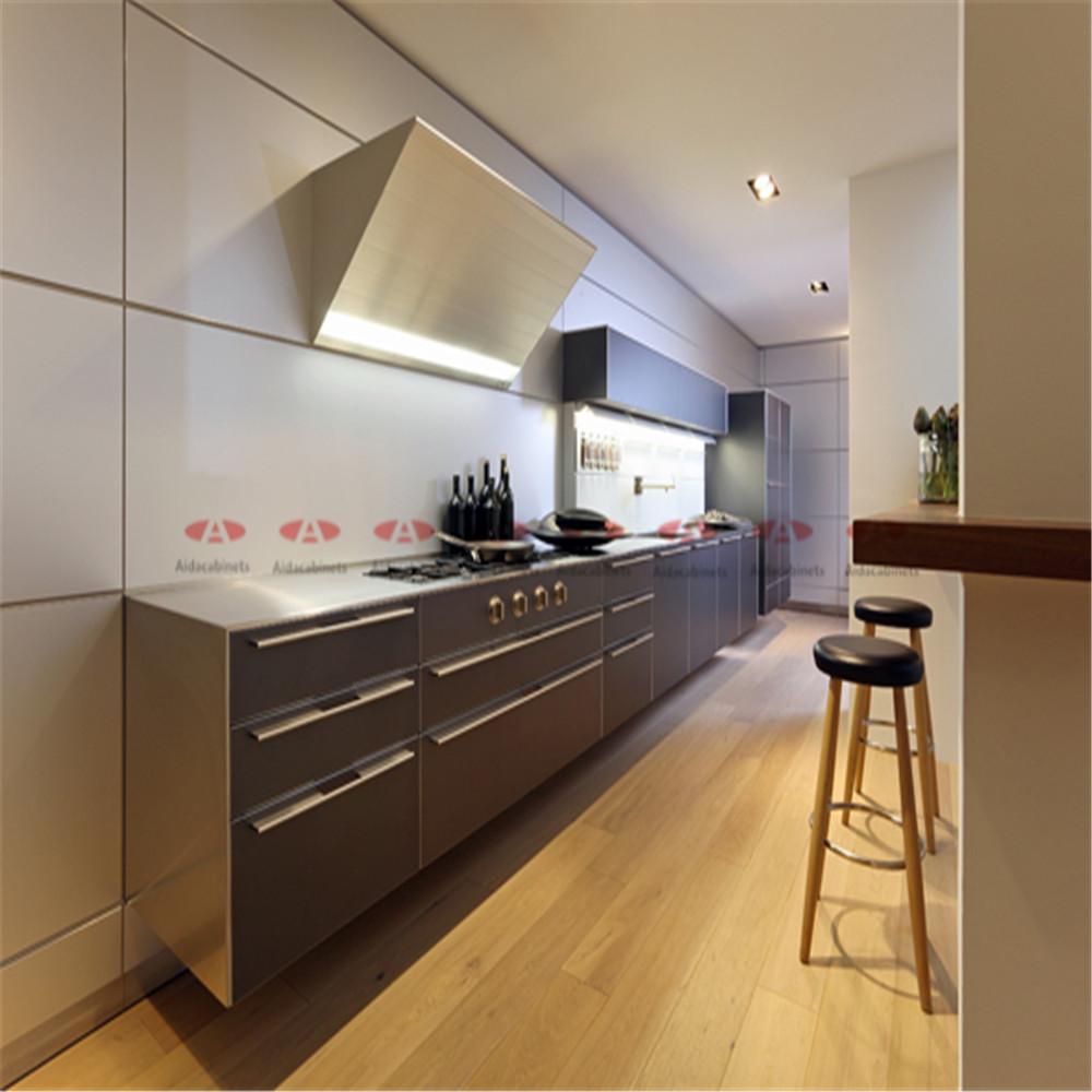 Keukenkast grijs - Kleine keukenmeubilair ...