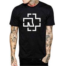Hip Hop Rammstein T Shirts Men Casual Short Sleeve T-Shirt O Neck Cotton Mens t shirt Men's Tops Homme Tees Free Shipping