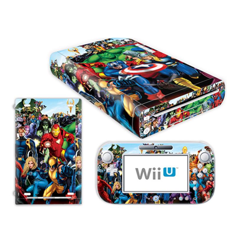 0048 # Cool Skin Vinyl Decal Sticker Protector For Nintendo WiiU Console TN-WiiU-0048(China (Mainland))