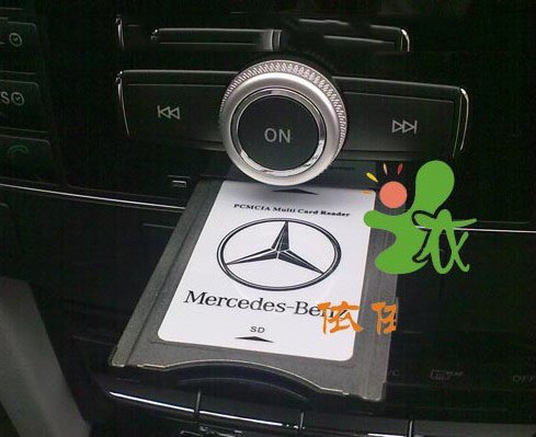 Pcmcia card for mercedes benz s550 for Pcmcia card for mercedes benz