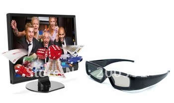 freeshipping  3D Bluetooth glasses  fully compatible for 3D  Bluetooth TV  for Samsung 3D TV