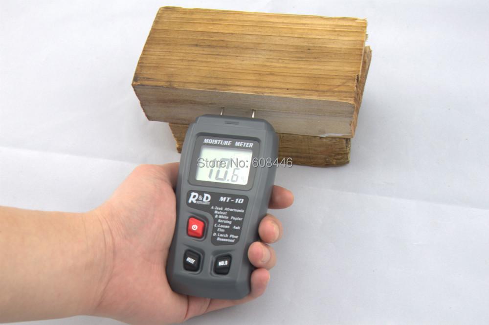 Hot wood paper cardboard moisture meter tester Range 0 99 9