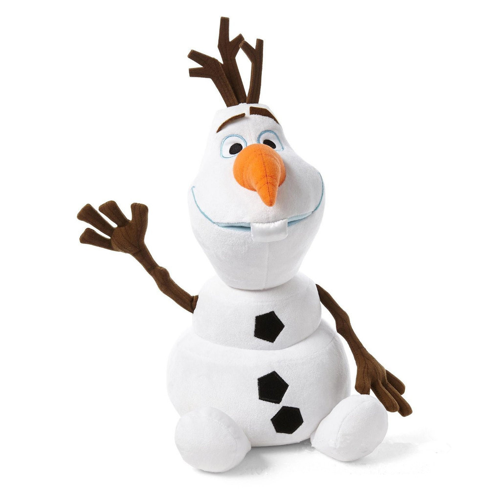 NEW 35CM Cartoon Movie Anna/Elsa/Olaf Plush Toy doll Stuffed Cotton Snowman Olaf Toys(China (Mainland))