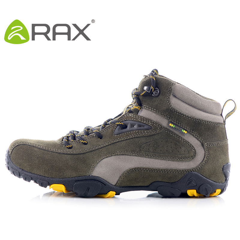 Brand:Rax autumn and winter water hiking shoes men outdoor shoes suede cowhide slip-resistant shock absorption walking shoes<br><br>Aliexpress