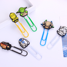 36 pcs/Lot Cartoon bookmark Star wars book marks paper clip holder stationery office accessories School supplies 6866(China (Mainland))
