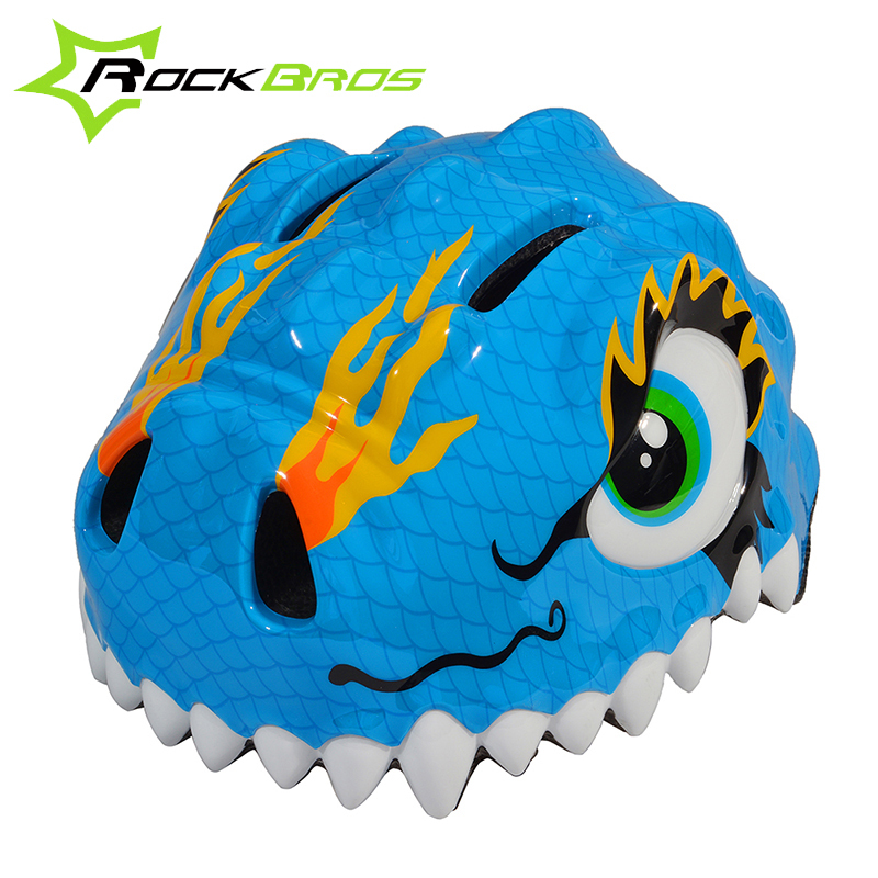 2015 ROCKBROS Fashion Child Cartoon Helmet Safety Mountain Bike Bicycle Helmet 6 Vents Cycling Children Helmet 4 Colors(China (Mainland))