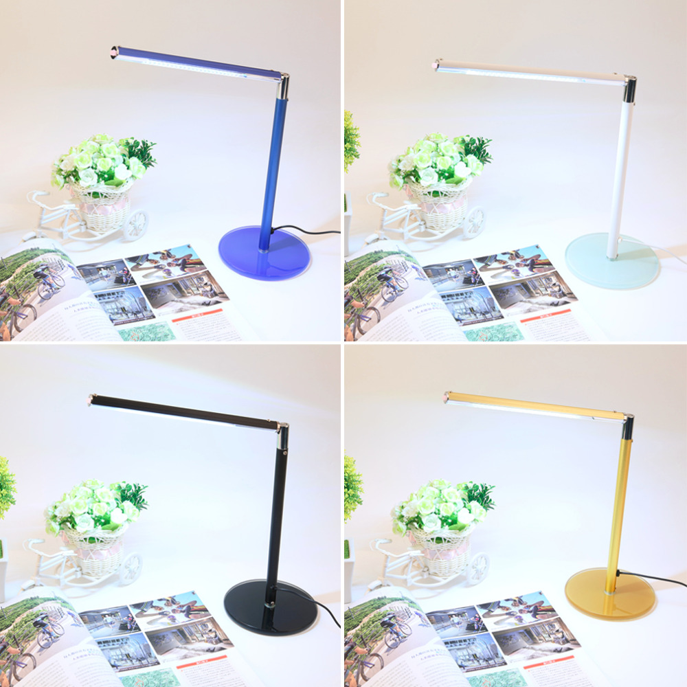 LED Dimmable Flexible Table Desk Lamp 24 Led Study Reading Bright Light<br><br>Aliexpress