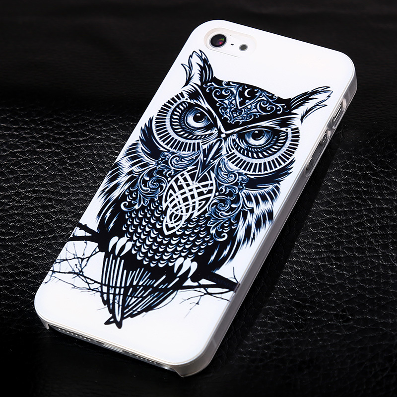 22 New Patterns Phone Back Cover for Apple iphone 5s Luxury Printed Hard Phone Skin for