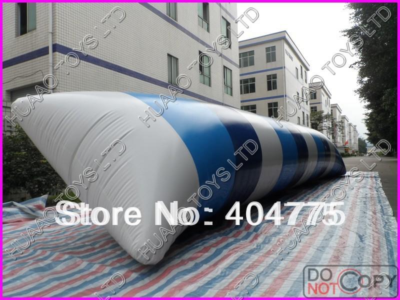 free shipping 12x3m water blob+1 CE/UL air pump+Repair kit(China (Mainland))