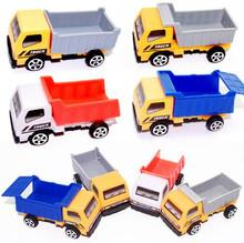 Mini Engineering vehicle autotruck for kids toys gift transport machine Mini sliding car truck model children's educational toys(China (Mainland))