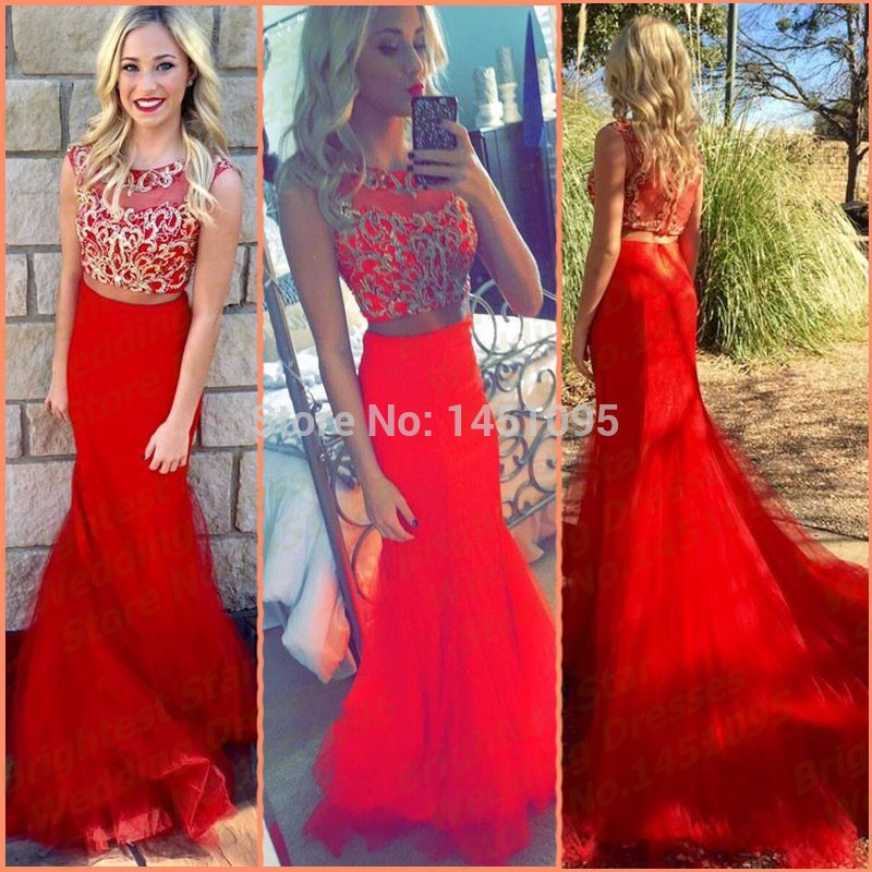 Red And Gold Prom Dresses   Gommap Blog