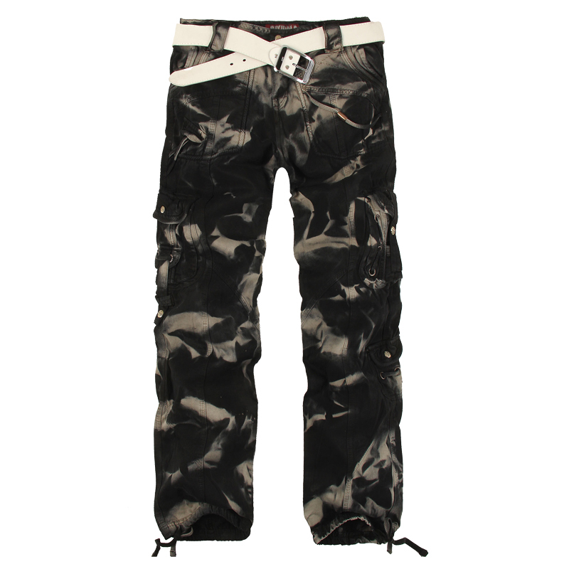 Original Camouflage Cargo Pants Women Army Fatigue Pants Loose Jeans Baggy