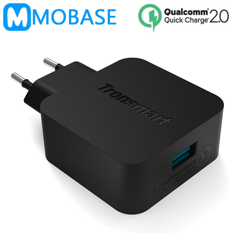 Tronsmart TS-WC1Q for Qualcomm Certified Quick Charge 2.0 Rapid USB Wall Charger for Asus Zenfone 2 Samsung Galaxy S6 Xiaomi Mi4