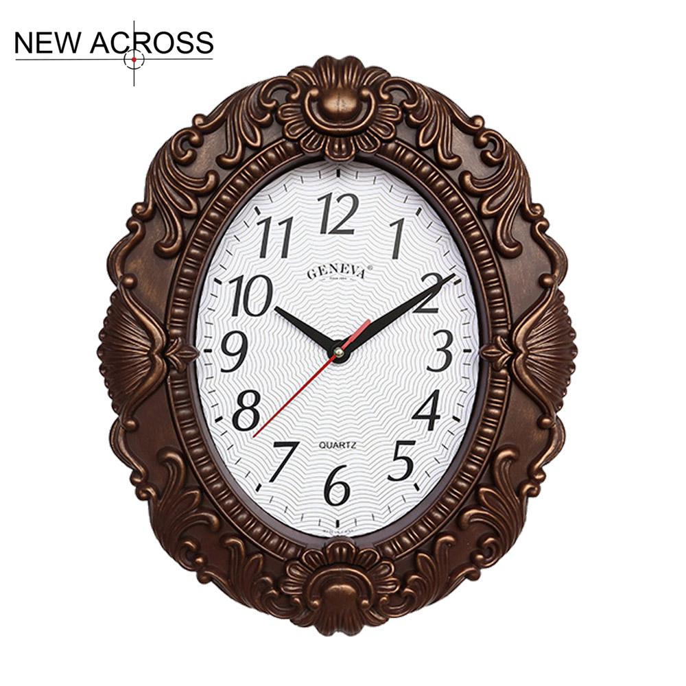 achetez en gros ovale horloge murale en ligne des grossistes ovale horloge murale chinois. Black Bedroom Furniture Sets. Home Design Ideas
