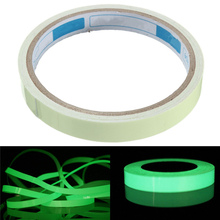 High Quality Luminous Tape Self-adhesive Glow In The Dark Night Vision Warning Tape Green Indoor Outdoor Safely Security(China (Mainland))