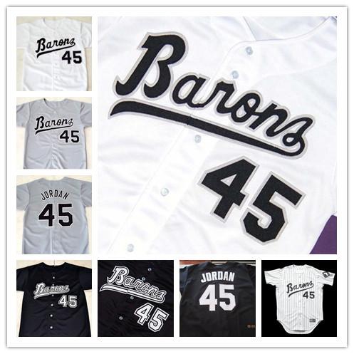 Michael Jordan Jersey Chicago White Sox 45# Michael Jordan Jersey Size:S-4XL(China (Mainland))
