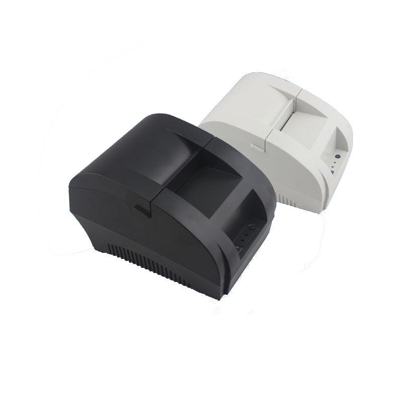 Freeshipping thermal printer 58mm pos printer mini thermal printer receipt printer ZJ-5890K(China (Mainland))