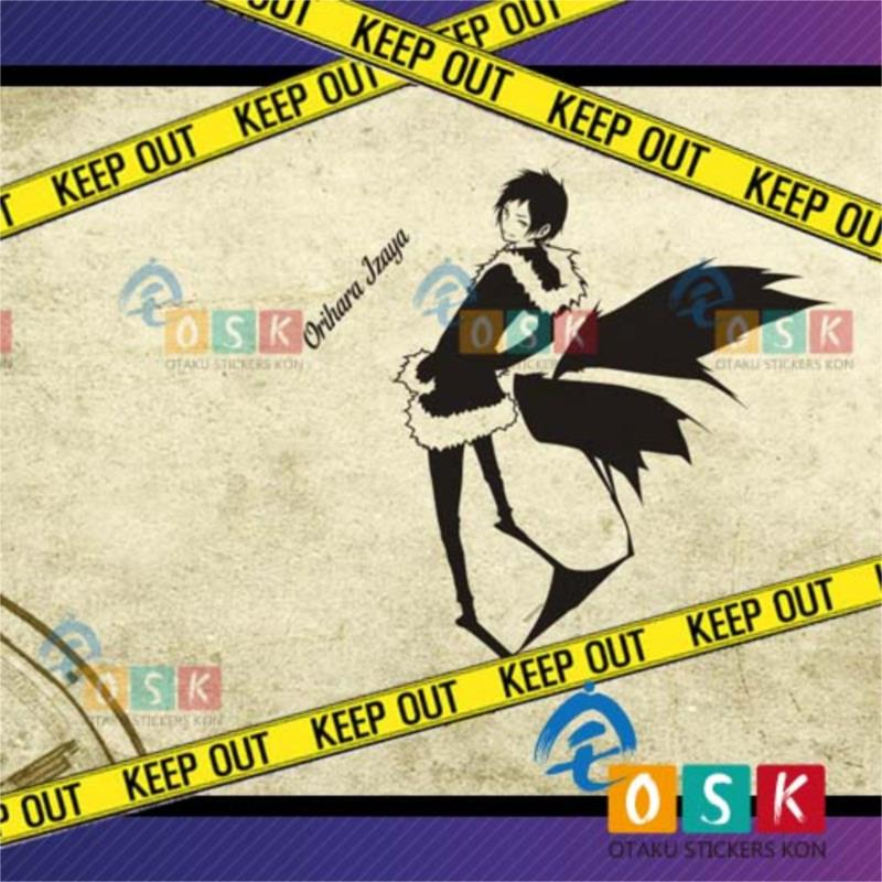 Folding the original Lin also wall stickers DURARARA small static and leisure around the glass / bedroom store stickers(China (Mainland))