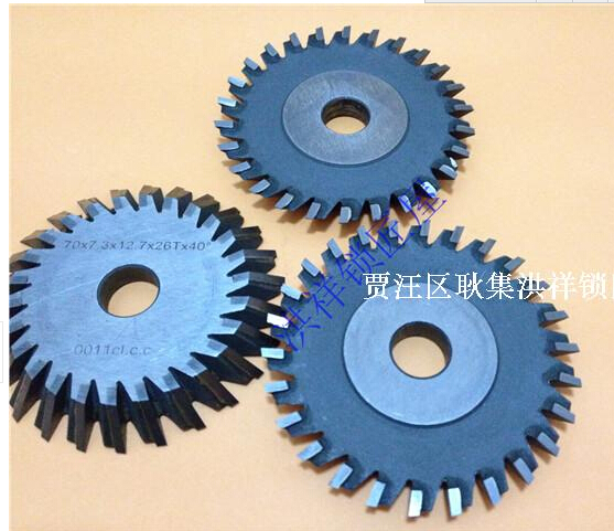 Wen Xing double key copying machine 101 right knife, 26 teeth insert alloy knife free shipping(China (Mainland))