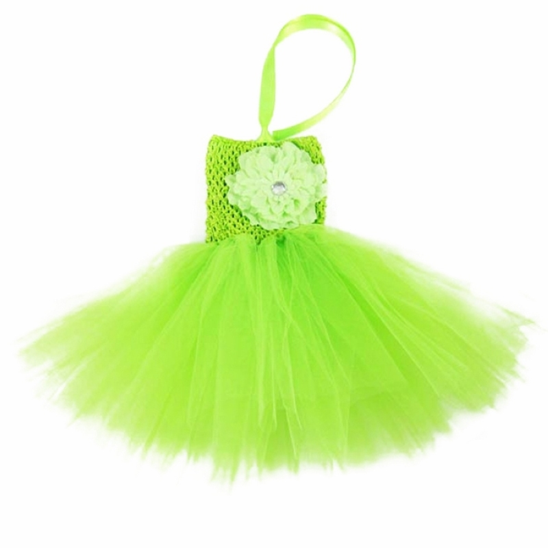 13 Solid Color new born baby infant tutu dress with a peony flower in front, toddler's summe dress(China (Mainland))