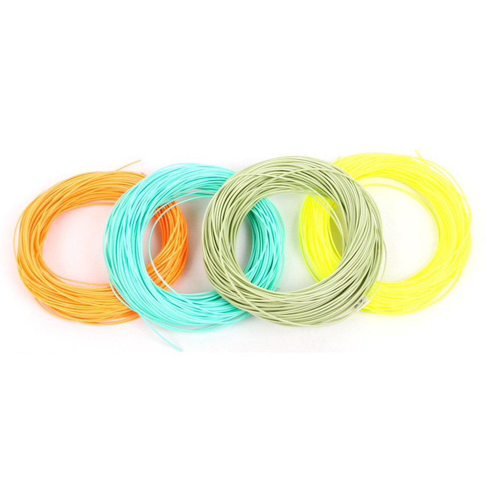 New 100FT 1wt 2wt 3wt 4wt 5wt 6wt 7wt 8wt Weight Forward Floating Fly Fishing Line Fish Accessories Hot Sale(China (Mainland))