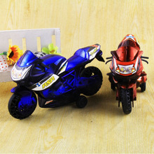 2Pcs/Set 7.5 * 13 cm High Quality Kids Motorcycle Toy Car Two Loaded Classic  Antique Car Model VBD40 P(China (Mainland))