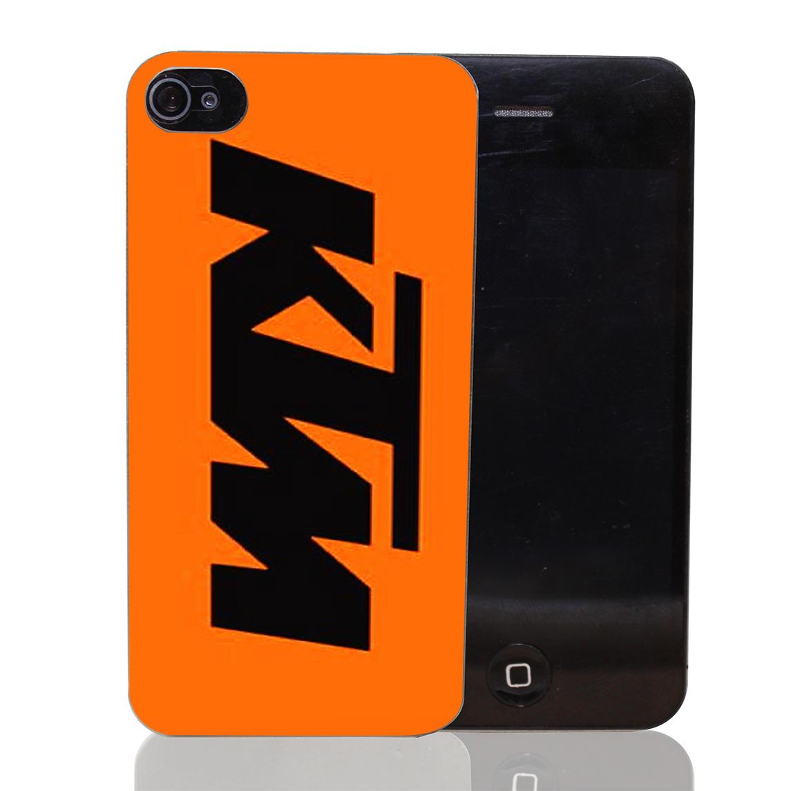 663T Best KTM Orange Hard Transparent Clear Case for iPhone 4 4s 5 5s SE 5c 6 6s & Plus(China (Mainland))