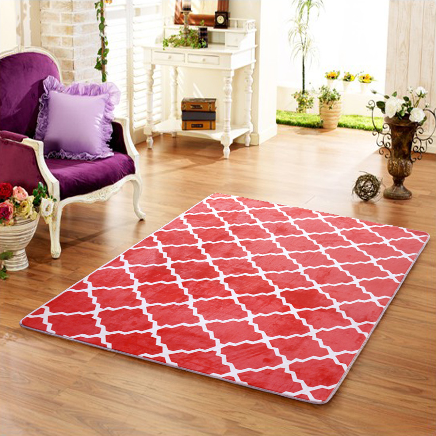 2015 soft rugs and carpets for living room rug plaid floor for Living room mats