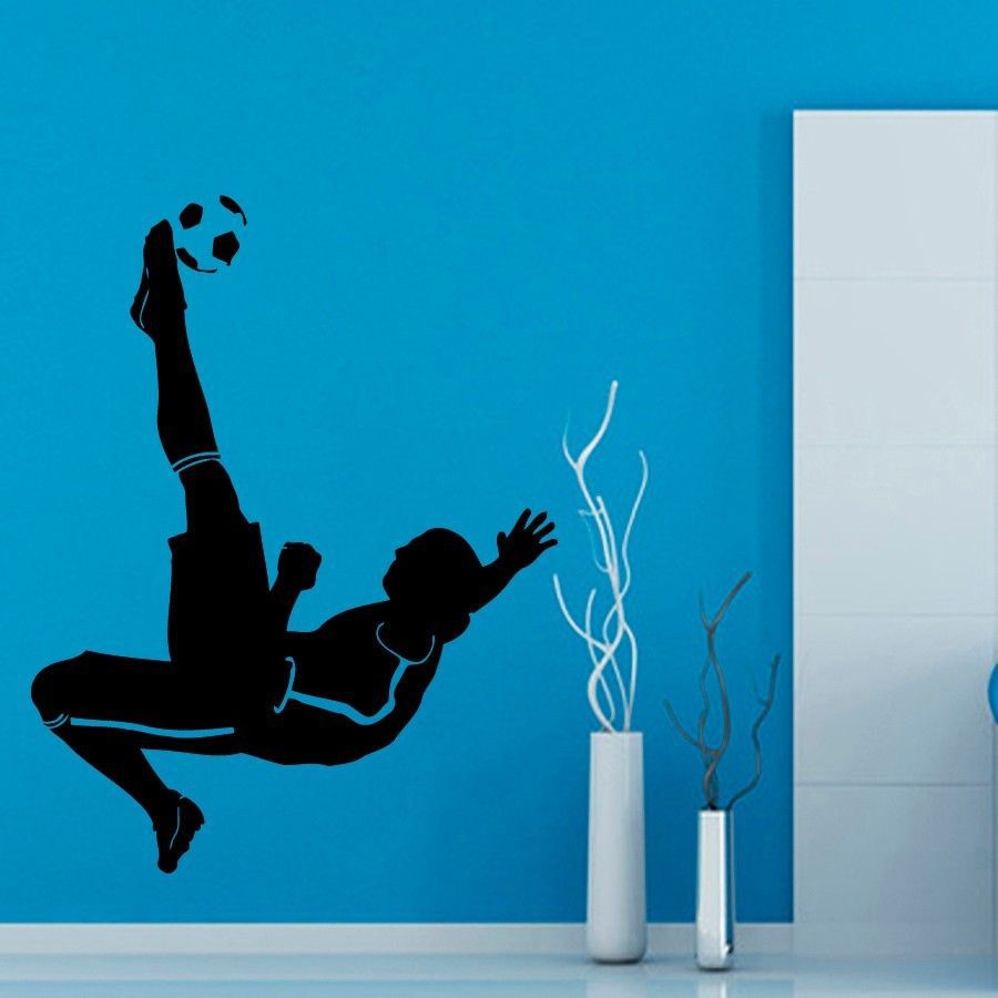 football ball football sticker soccer decal posters vinyl wall decals