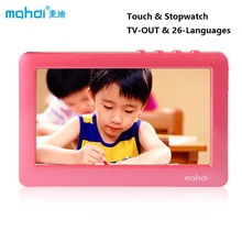 Brand Mahdi Touch Screen MP4 MP3 Player Music 8gb MP4 4.3 Inch With TV Out 32 Games MP4 Player Video Stopwatch & 26-Languages(China (Mainland))