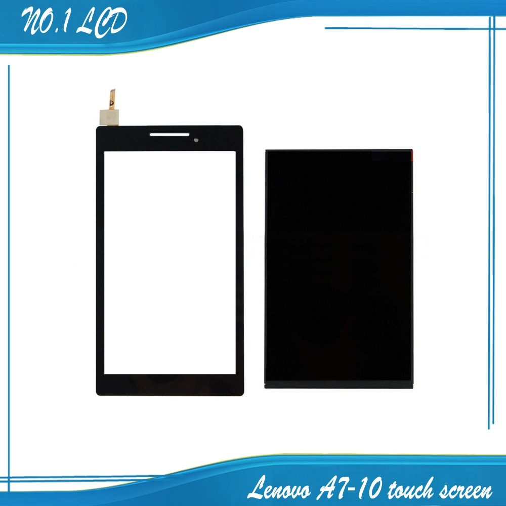 Touch Screen Digitizer Glass Sensor + LCD Display Panel Screen For Lenovo TAB 2 A7-10 Free Shipping<br><br>Aliexpress