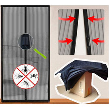 Durable 1 Curtains For Living Room Magnetic Anti Mosquito Modern Window modern Curtain Cortinas De Janela